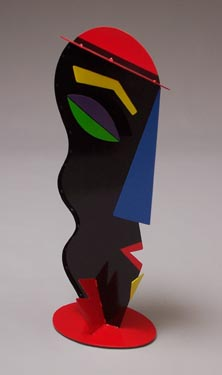 whimsical, abstract, figurative, contemporary, colorful, free standing, indoor outdoor, sculpture, steel, enamel paints